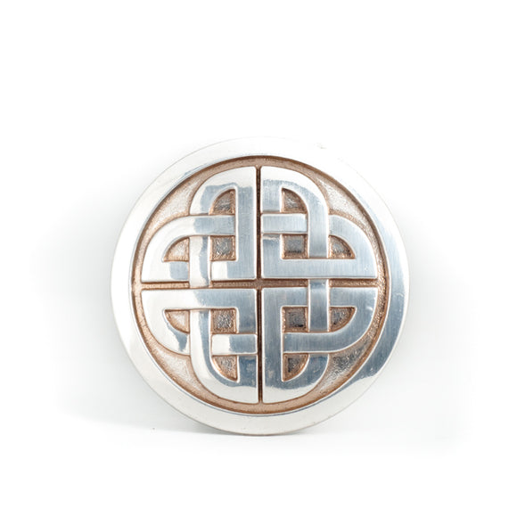 Celtic Eternity Knot Belt Buckle