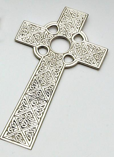 Mullingar Pewter Celtic Cross -  Mary-Anne's Irish Gift Shop