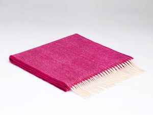 Herringbone Chianti Merino Supersoft Lambswool Scarf -  McNutts of Donegal