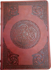 Leather Journal - Celtic- small -  Natures Craft