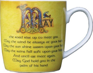 Ceramic Mug - Irish Blessing -  Natures Craft