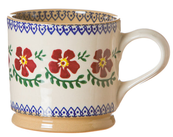 Nicholas Mossed Old Rose Large Mug