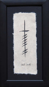 Ogham Wish Love (Grá)
