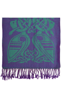 Book of Kells Celtic Scarf -  Patrick Francis
