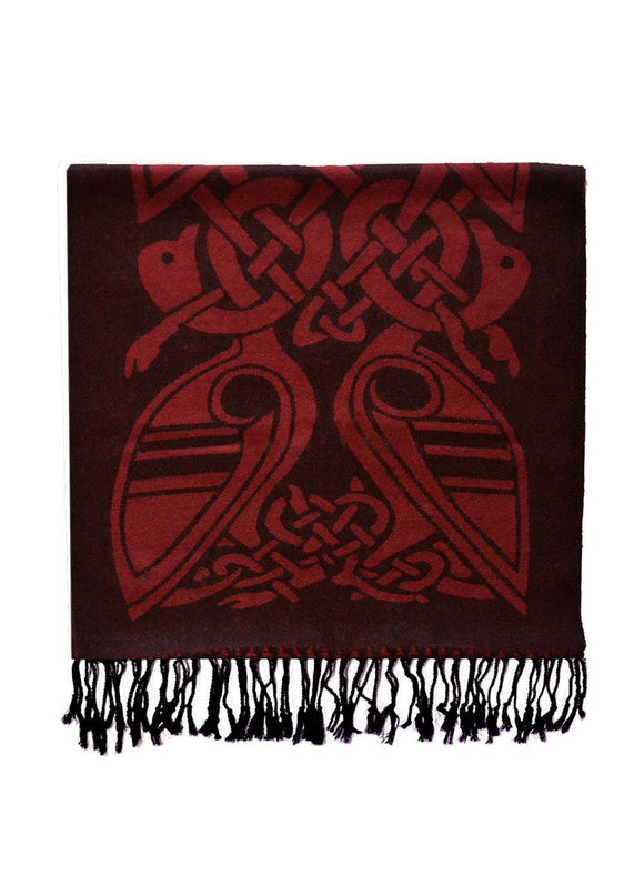 Book of Kells Celtic Scarf