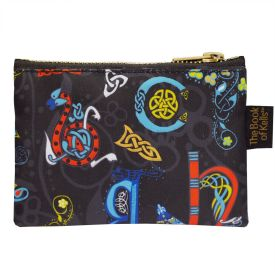 Book of Kells Alphabet Coin Purse -  patrick francis