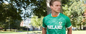 Mens Ireland Soccer Top -  Fisherman Out of Ireland