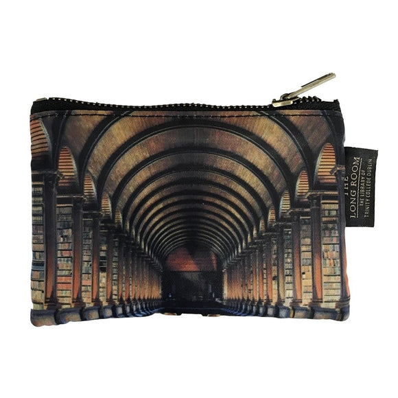 Trinity College Long Room Coin Purse -  patrick francis