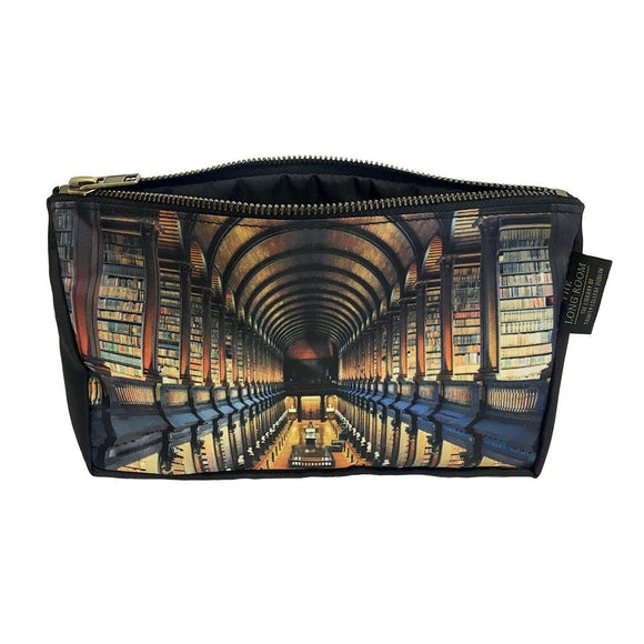 Trinity College Long Room Cosmetic Bag -  patrick francis