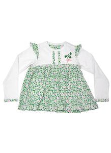 Shamrock Cotton Dress -  Aran crafts