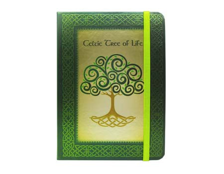 Journal-Celtic Tree of Life -  royal tara