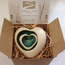 Irish Ceramic...Nest of Heart Shaped Bowls -  Siobhan Steele
