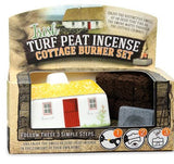 Turf Peat Irish Cottage Incense Burner -  turf peat incense