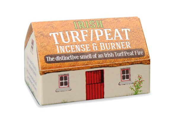 Turf Peat Incense & Burner -  turf peat incense
