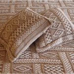 Aran Cable Knit Super Soft Merino Wool Blanket/Throw -  McNutts of Donegal
