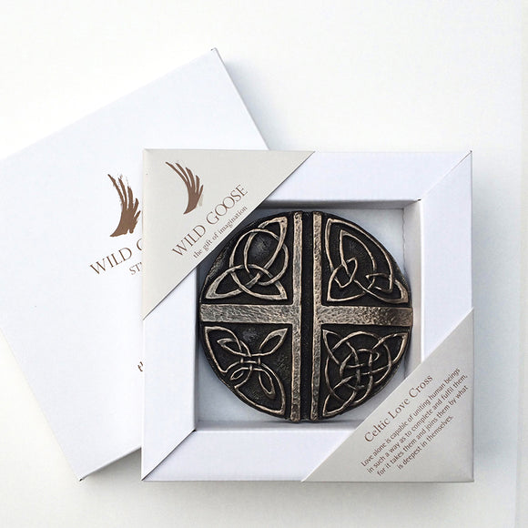 Wild Goose Studio Celtic Love Cross