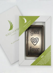 Wild Goose Studio Grá (Love) Plaque