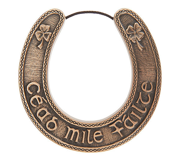 Wild Goose Studio Lucky Irish Horse Shoe