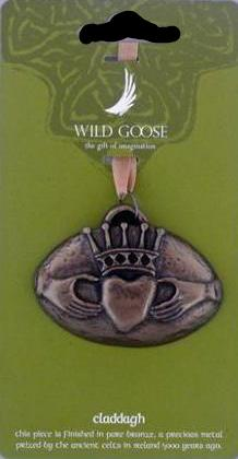 Wild Goose Studio mini Claddagh Ring Ornament -  Wild Goose Studio