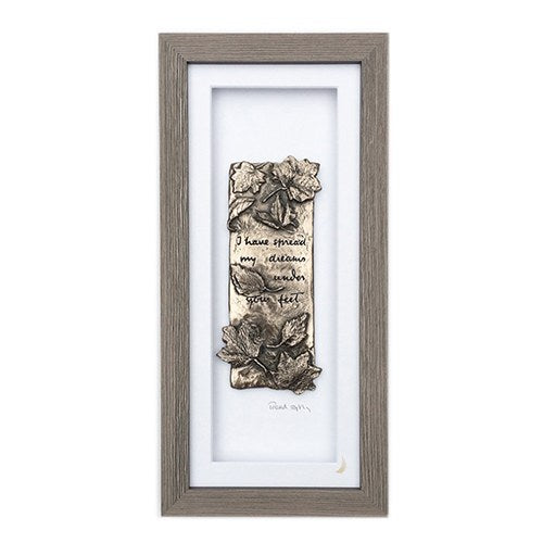 Wild Goose Studio Gallery Framed W. B. Yeats Poem Tread Softly... -  Wild Goose Studio