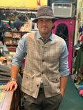 Donegal Tweed Sleeveless Men's Coat/Vest -  Jonathon Richard