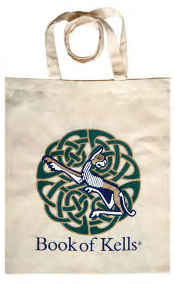 Book of Kells Cotton Tote Bag -  royal tara