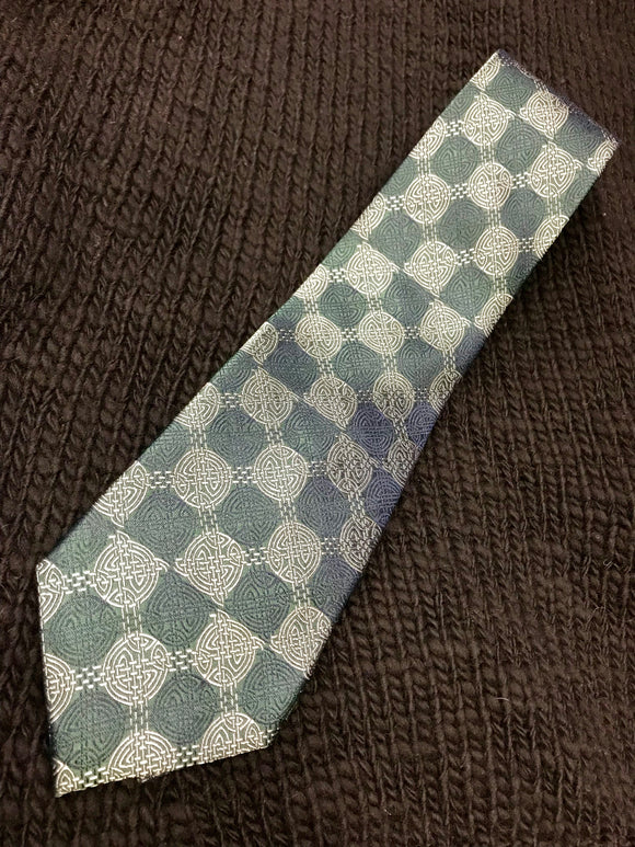 Woven Silk Celtic Knot Tie -  Patrick Francis
