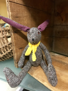 Handmade Irish Tweed Tipperary Hare -  Mary-Anne's Irish Gift Shop