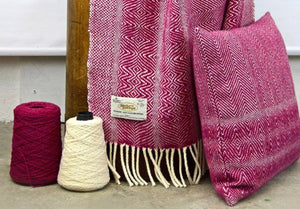 Studio Donegal Handwoven Wool Blanket/Throw