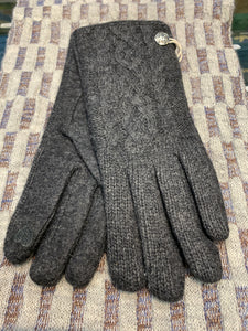 Ladies Aran Cableknit lined Gloves with Celtic Knot -  I like it