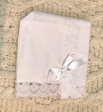 Irish Linen Magic Baby Bonnet -  Hamel