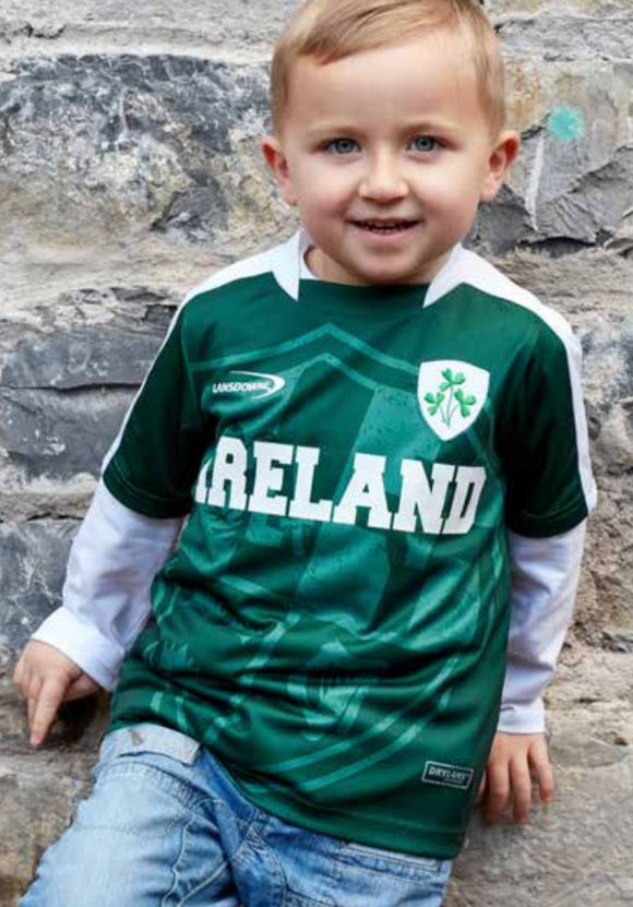 Kids Ireland Soccer Top -  Aran crafts