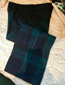 Blackwatch Tartan Wool Pants -  O'Neills