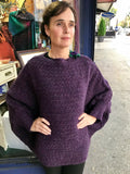 Áine Cable Sweater with Bell Sleeve -  Aine