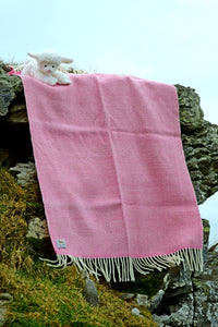 Handwoven Studio Donegal Supersoft Baby Blanket