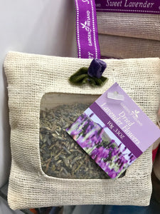 Garden of Ireland Lavender Sachet -  fragrances of Ireland