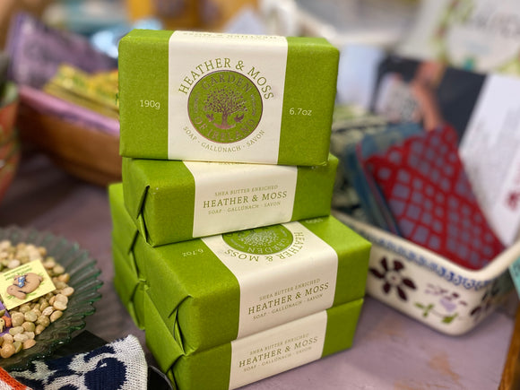 Garden of Ireland Heather and Moss Vegetable Oil Soap