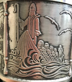 Mullingar Pewter St Brendan Chalice -  Mary-Anne's Irish Gift Shop