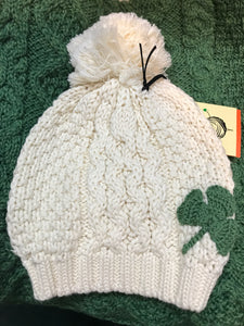 Shamrock Child's Pom Hat -  Patrick Francis
