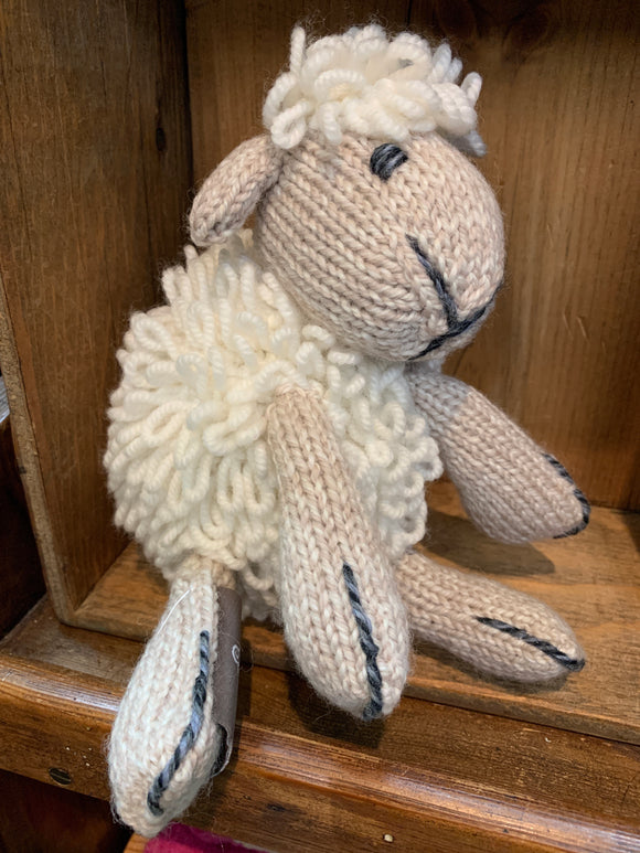 Hand Knit Aran Sheep -  Aran crafts