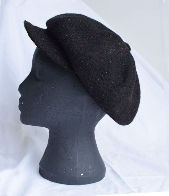 Handwoven Studio Donegal Ladies Irish Tweed Cap
