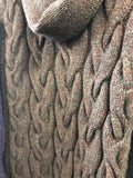 Fisherman Out of Ireland Giant Cowl Cable Knit Sweater -  Fisherman Out of Ireland