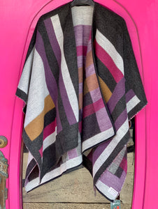 Ladies Patchwork Wrap -  Patrick Francis