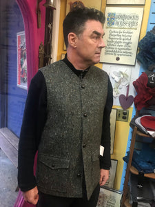 Donegal Tweed Sleeveless Men's Coat/Vest