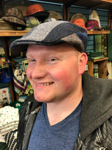 Irish Tweed Cap Mulit-Color -  Hanna Hats