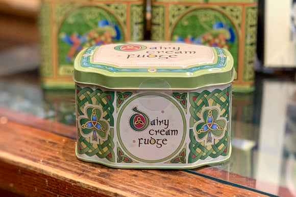 Irish Dairy Cream Fudge in a Tin -  royal tara