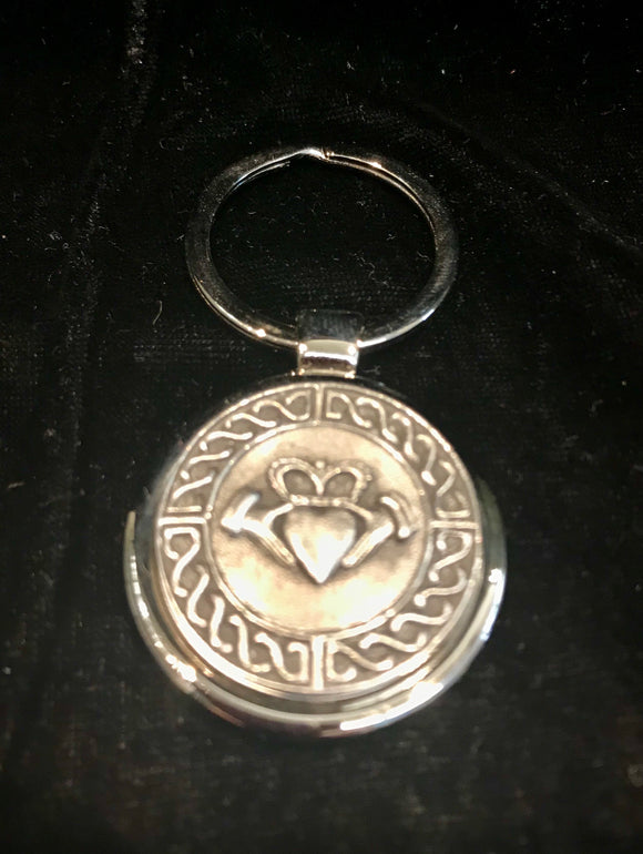Mullingar Pewter Trinity Knot Key Ring -  Mary-Anne's Irish Gift Shop