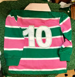 Girls Irish Rugby Long Sleeve Top -  Lansdowne