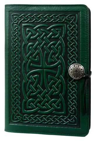 Leather Celtic Knot Refillable Journal -  Mary-Anne's Irish Gift Shop