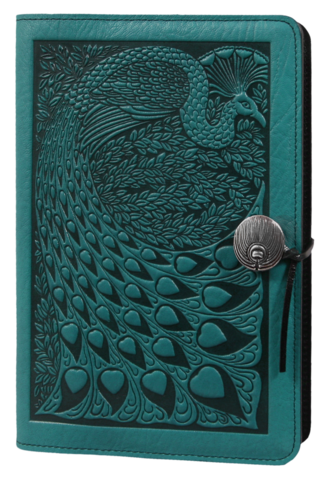 Leather Peacock Refillable Journal -  Mary-Anne's Irish Gift Shop